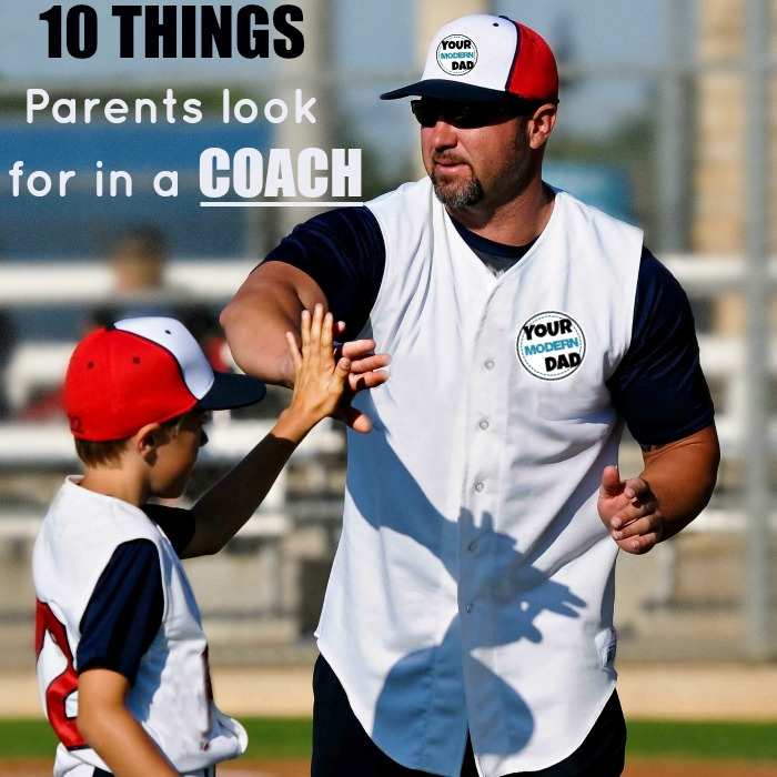 10 thing parents look for in a coach
