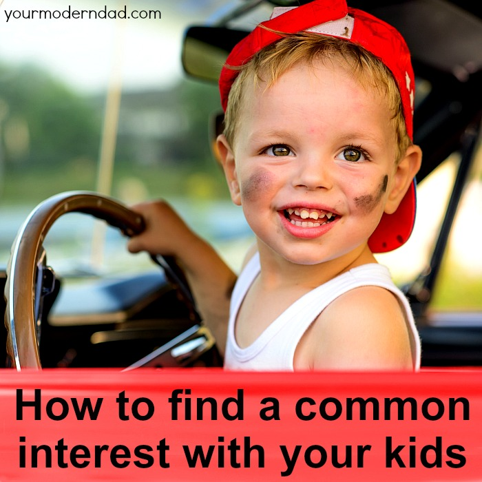 How to find a common interest with kids