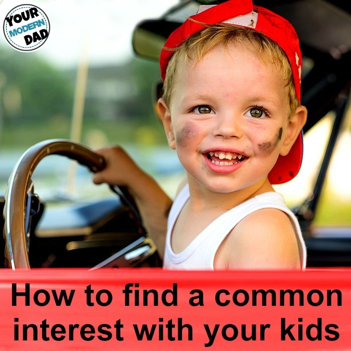 How to find a common interest with your kids