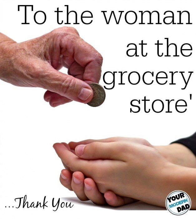 To the Woman and the Grocery Store