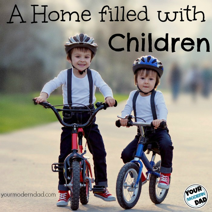 home filled with children