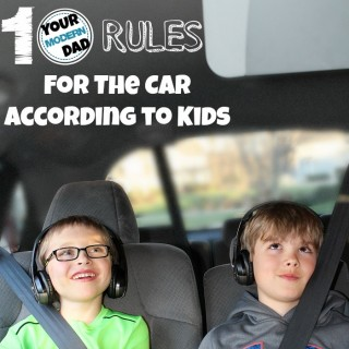 10 rules for the car according to kids