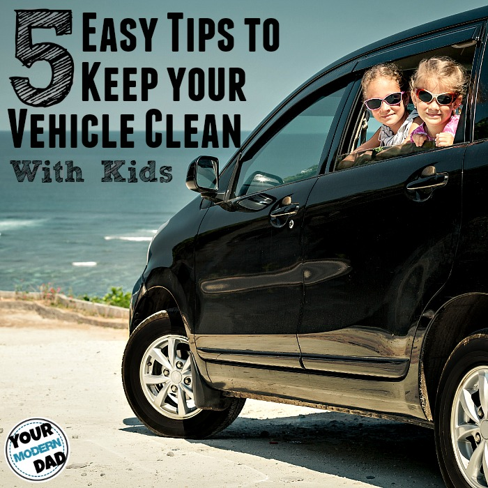 Keep your vehicle clean with kids your modern dad How to keep your car exterior clean