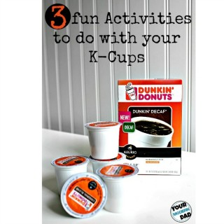 dunkin donuts k-cup activities