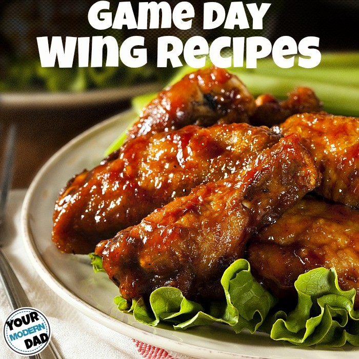 game day wing recipes