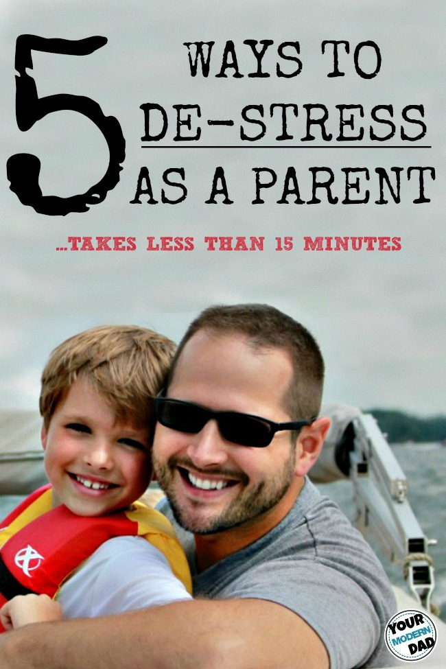 5 ways to de-stress as a parent