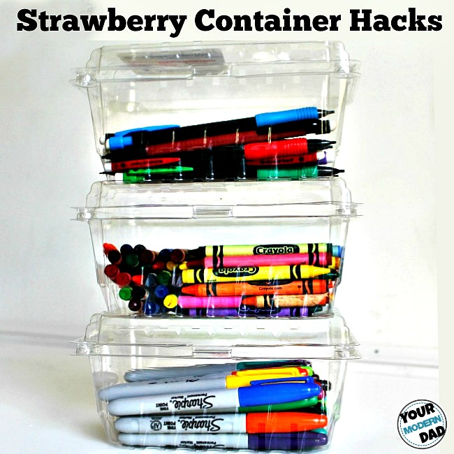 strawberry container hacks