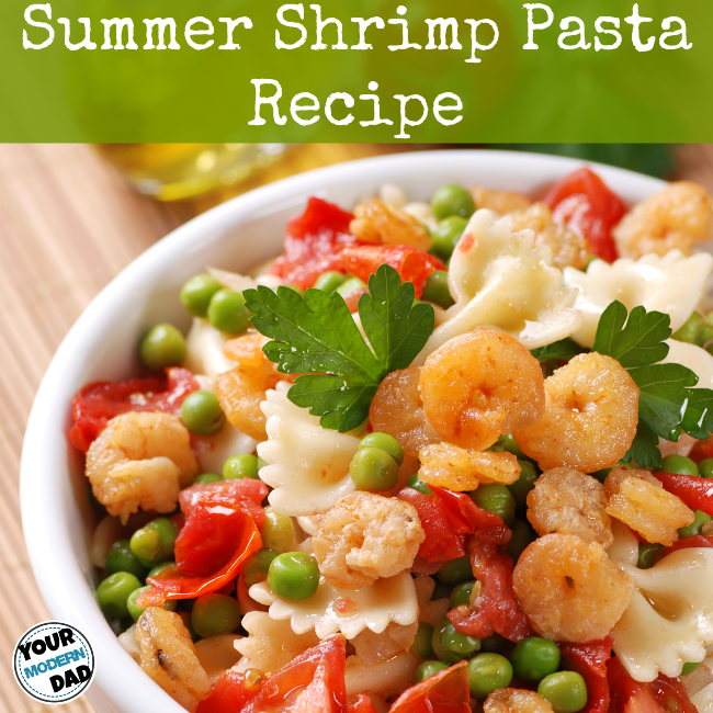 summer shrimp pasta recipe