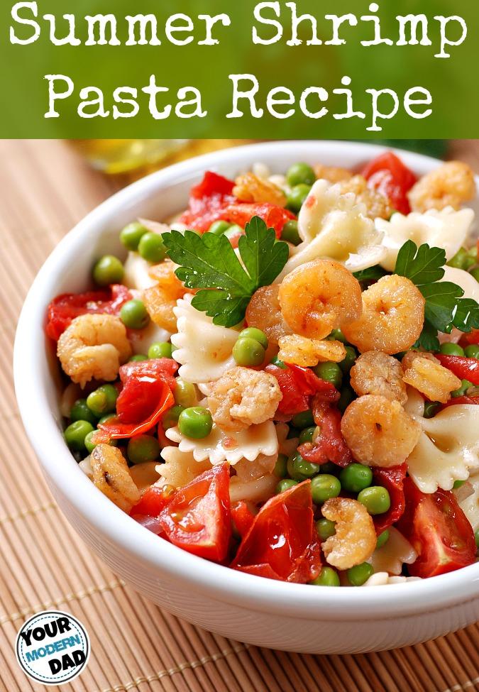 summer shrimp pasta recipe
