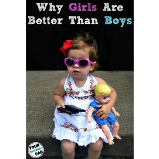 Why girls are better than boys