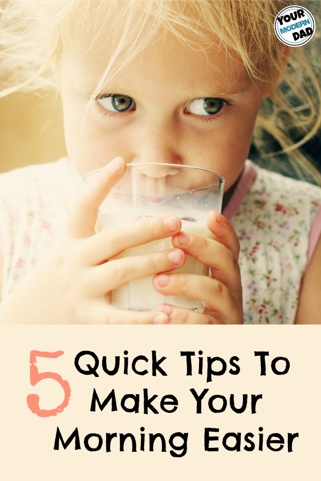 5 quick tips to make your morning easier