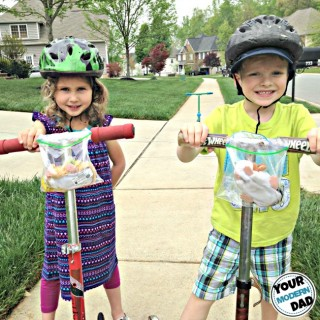 Kid scooter hack