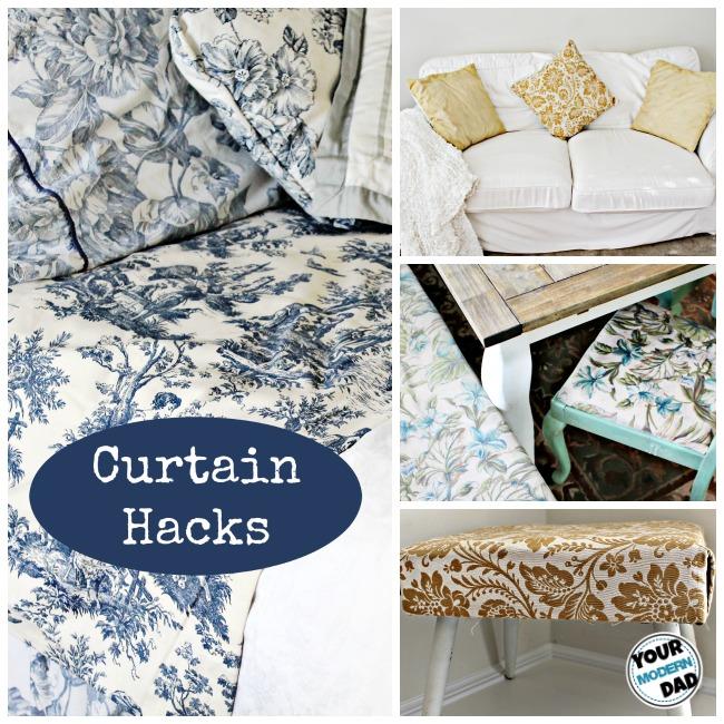 curtain hacks