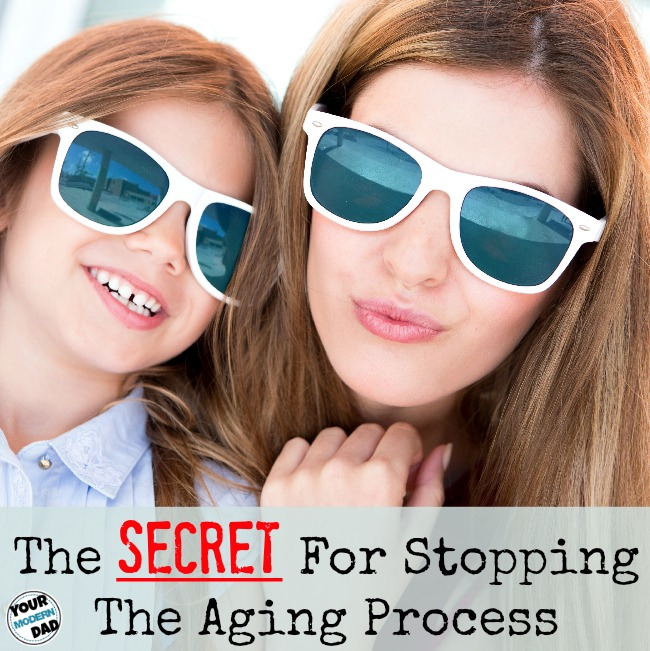the secret for stopping the aging process