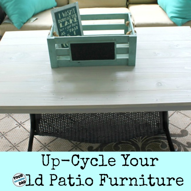 tips to up cycle your old patio furniture 1