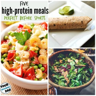 5 quick high protein meals for the busy family  #PowerfulProtein