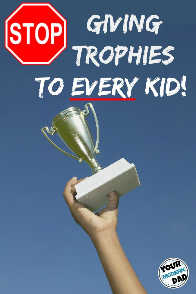 stop giving trophies to every kid