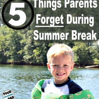 5 things parents forget during summer break  #teamoments