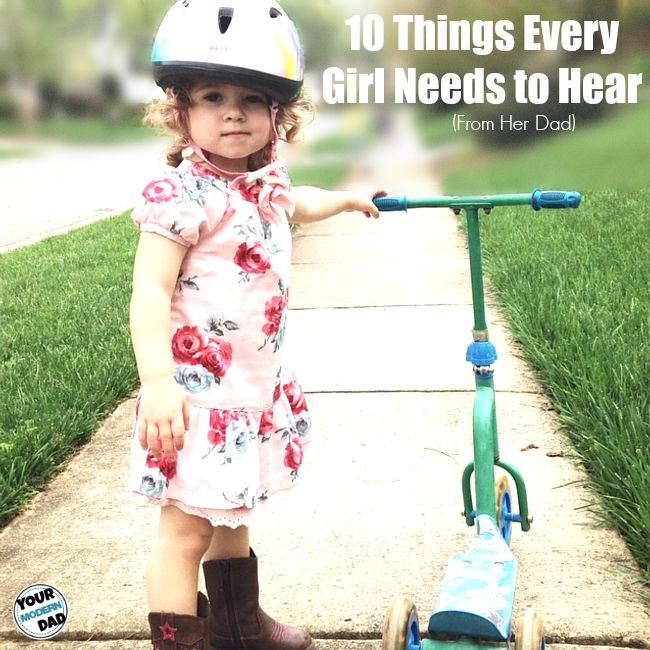 10 things every girl needs to hear
