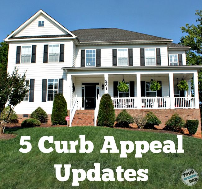 Tremendous 5 Curb Appeal Updates Your Modern Dad Largest Home Design Picture Inspirations Pitcheantrous