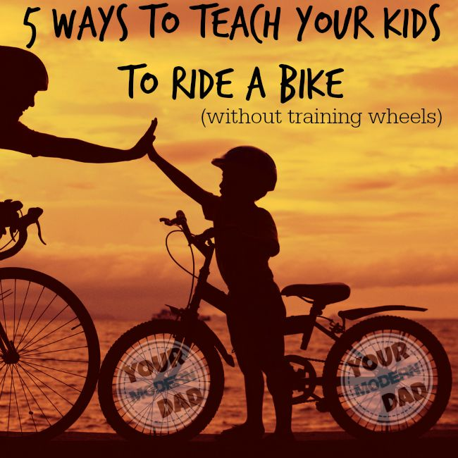 5 ways to ride a bike