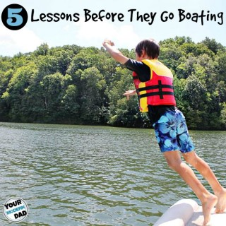 5 lessons before they go boating