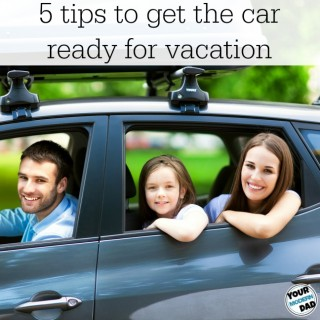 5 tips to get the car ready for vacation