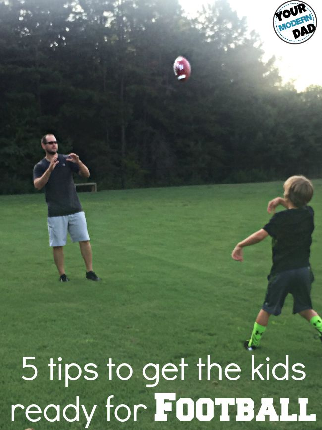 5 ways to get the kids ready for the Football Season