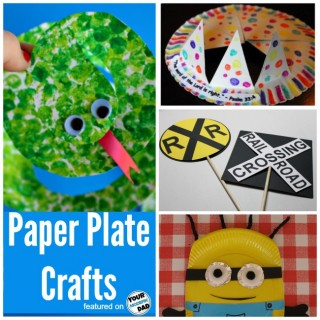 5 paper plate crafts