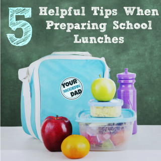 5 helpful tips when preparing school lunches