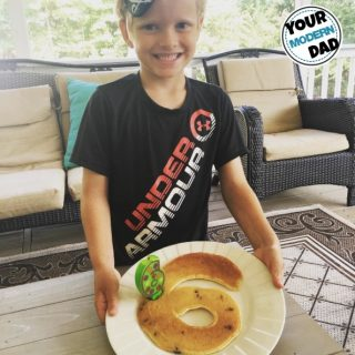Birthday Number Pancakes