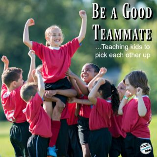 Picking each other up  – teamwork