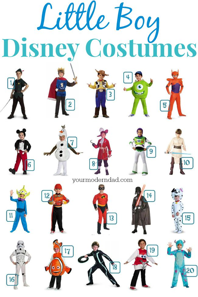 Disney costumes for boys  sc 1 st  Your Modern Dad & Disney Costumes for Boys - your modern dad
