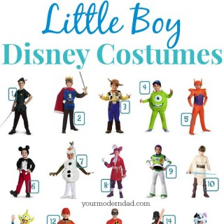 Disney costumes for boys