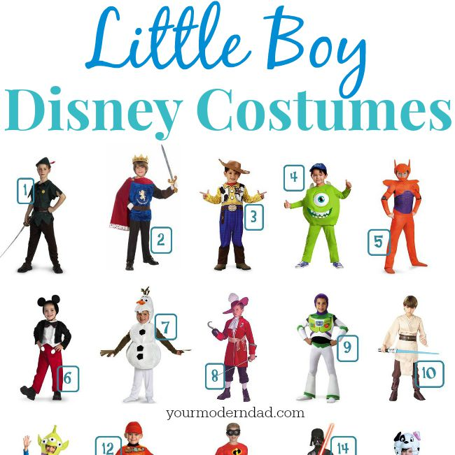 sc 1 st  Your Modern Dad & Disney Costumes for Boys - your modern dad