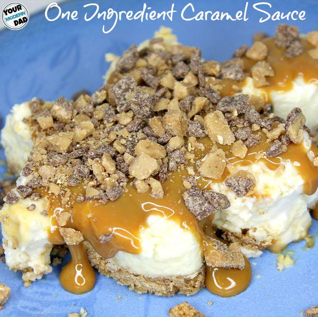 one ingredient caramel sauce