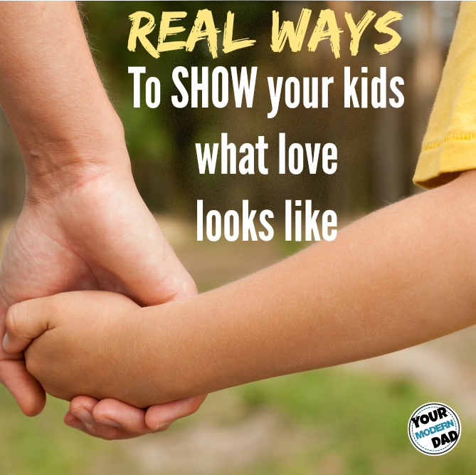 real ways to show love