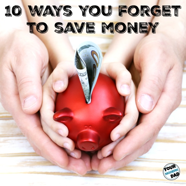 10 ways you forget to save money