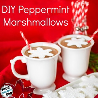DIY peppermint marshmallows