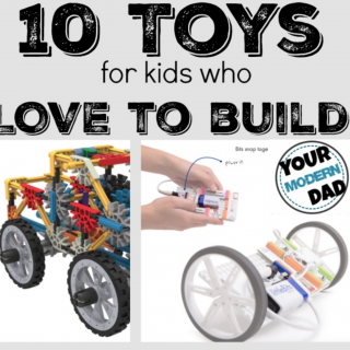 10 toys for the child that builds