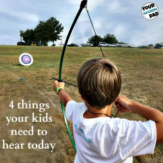 4 things to say to your kids today
