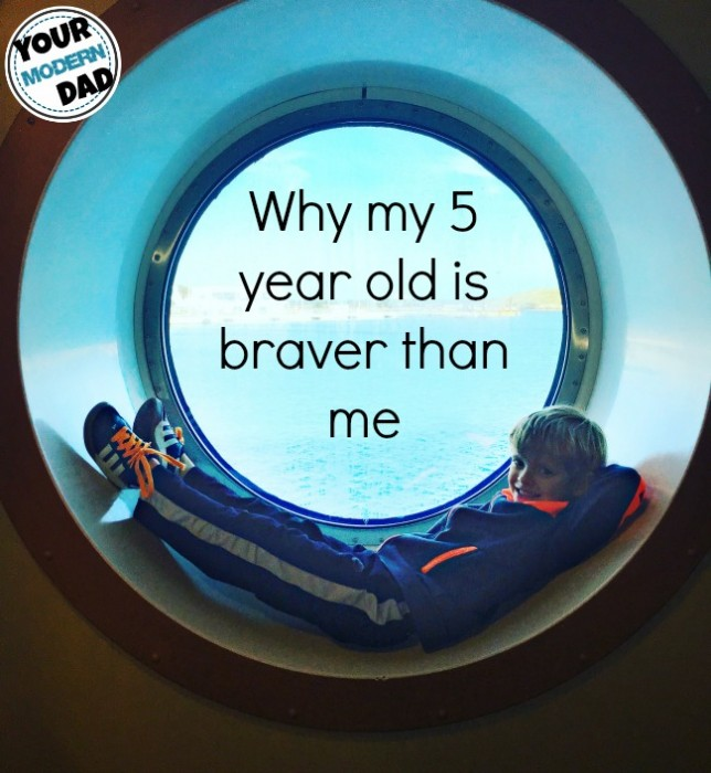 5 year old is braver