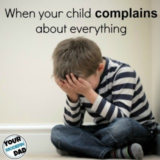 stop child complaining