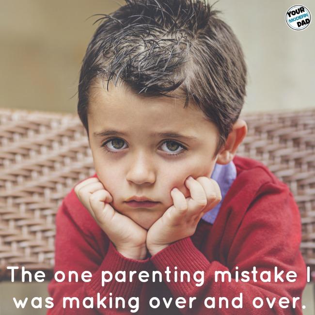 parenting mistake
