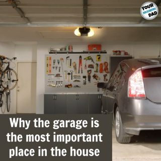 Why the garage is the most important place in the house