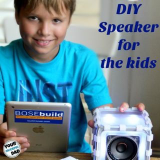 DIY Speaker for the kids