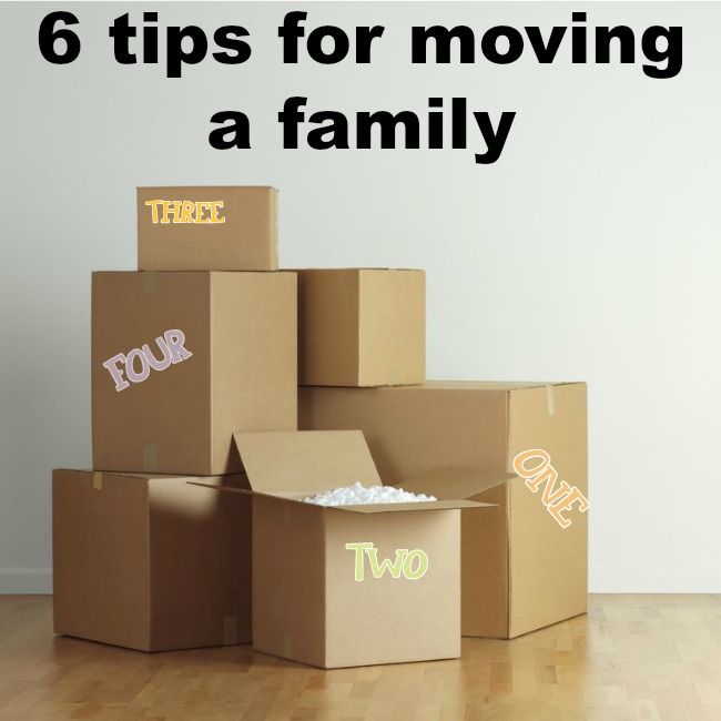 moving w/ kids