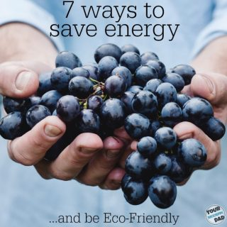 7 Ways to be save energy and be ecofriendly!