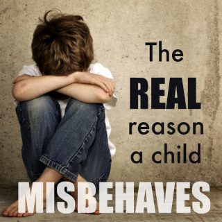 The hidden reason a child misbehaves