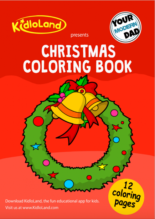 - FREE Christmas Coloring Book - Your Modern Dad